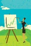 Projetando lucros mais altos Imagem de Stock Royalty Free