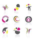 Projete elementos ilustração do vetor