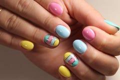 Projeto à moda do tratamento de mãos Imagem de Stock