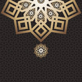 Projeto árabe de EID Mubarak Card Fotografia de Stock
