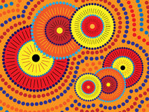 Projeto aborígene ilustração stock