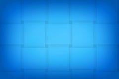 Projeto abstrato azul do fundo Fotografia de Stock