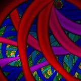 Projeto abstrato colorido do Fractal Imagem de Stock Royalty Free