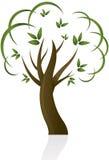 Projeto abstrato da árvore Foto de Stock Royalty Free