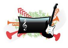 Projeto abstrato da música Fotos de Stock