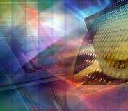 Projeto abstrato da tecnologia Fotografia de Stock Royalty Free