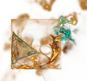 Projeto abstrato do Fractal fotografia de stock royalty free