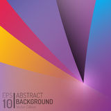 Projeto abstrato do fundo da cor Elementos do vetor Ilustração criativa do papel de parede EPS10 Fotos de Stock