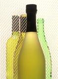 Projeto abstrato do fundo do vinho Fotografia de Stock Royalty Free