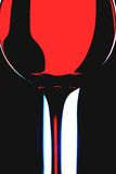 Projeto abstrato do fundo do vinho Fotografia de Stock