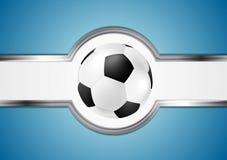 Projeto abstrato do futebol Fotografia de Stock Royalty Free