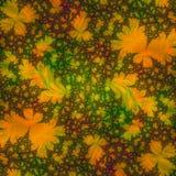 Projeto abstrato do molde do fundo que assemelha-se às folhas de outono Foto de Stock Royalty Free
