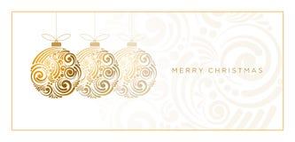 Projeto abstrato do Natal Fotos de Stock Royalty Free