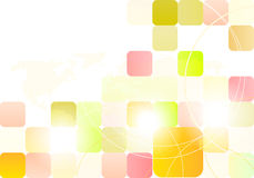 Projeto abstrato dos retângulos Imagens de Stock