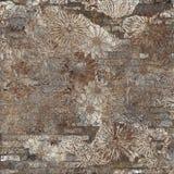 Projeto abstrato floral da decoração, projeto do teste padrão da mistura imagens de stock