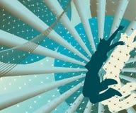 Projeto abstrato moderno ilustração royalty free