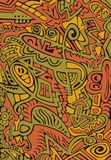 Projeto abstrato, mosaico ilustração royalty free