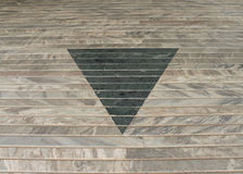 Projeto abstrato triangular Fotografia de Stock Royalty Free