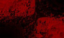 Projeto abstrato vermelho e preto do vetor do fundo, fundo protegido borrado colorido Natal, bokeh ilustração stock