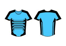 Projeto agradável da camisa ilustração stock