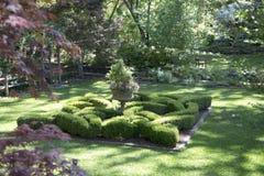 Projeto agradável das paisagens na jarda fotos de stock royalty free