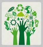 Projeto ambiental Foto de Stock