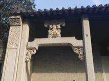 Projeto antigo chinês Fotografia de Stock Royalty Free