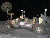 Projeto Apollo Lunar Rover Vehicle da NASA na exposição em Johnson Space Center Public Museum em Houston, Texas Imagens de Stock