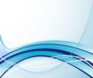 Projeto azul abstrato do vetor Imagens de Stock Royalty Free
