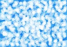 Projeto azul abstrato e para brilhar o baackground azul do brilho ilustração stock