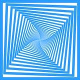 Projeto azul dos quadrados. Ilustração do Vetor
