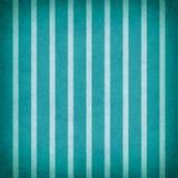 Projeto azul e branco da cerceta brilhante do teste padrão listrado do fundo com textura Fotos de Stock Royalty Free