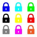 Projeto bonito do pago em cores diferentes Fotografia de Stock