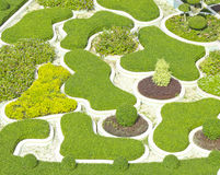 Projeto bonito do parque Fotos de Stock Royalty Free