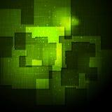 Projeto brilhante do vetor abstrato da olá!-tecnologia Fotos de Stock