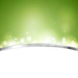 Projeto brilhante verde do vetor Foto de Stock Royalty Free