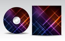 Projeto CD da tampa Imagem de Stock Royalty Free