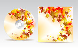 Projeto CD da tampa Fotos de Stock