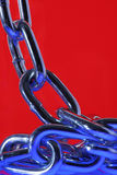 Projeto Chain abstrato. Imagens de Stock Royalty Free