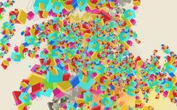 Projeto colorido abstrato do fundo Foto de Stock Royalty Free