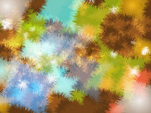 Projeto colorido abstrato do fundo da arte ilustração royalty free