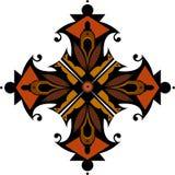 Projeto colorido abstrato para o papel de parede, o fundo, a decoração e a telha projeto étnico e oriental ilustração royalty free