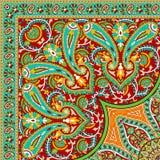 Projeto colorido bonito do lenço da cópia de matéria têxtil Fotografia de Stock Royalty Free