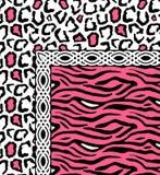 Projeto colorido bonito do lenço da cópia de matéria têxtil Imagem de Stock