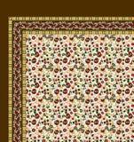 Projeto colorido bonito do lenço da cópia de matéria têxtil Fotos de Stock Royalty Free