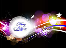 Projeto colorido do Natal Fotografia de Stock Royalty Free