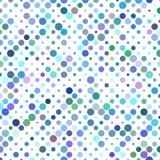 Projeto colorido do teste padrão do círculo Fotos de Stock