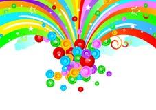 Projeto colorido do vetor Imagem de Stock
