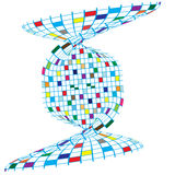 Projeto colorido dos quadrados Imagens de Stock Royalty Free