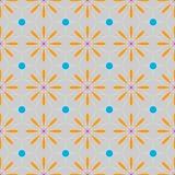 Projeto colorido dos testes padrões geométricos étnicos florais coloridos para o fundo ou o papel de parede Cópia abstrata ilustração stock
